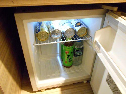パレスホテル大宮の冷蔵庫
