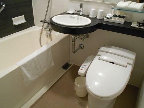 パレスホテル大宮のお風呂