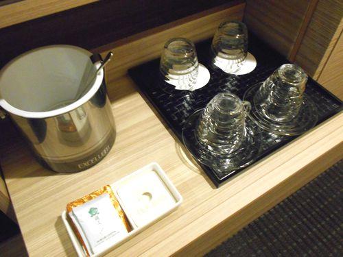 パレスホテル大宮のドリンクコーナー